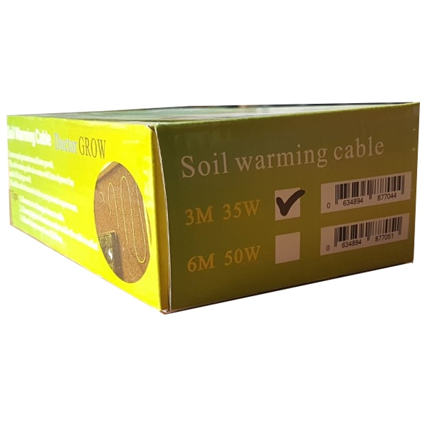 Heating Cable PLUS Digital Thermostat 3m Soil Warming Cable